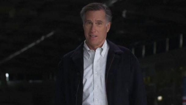 Mitt Romney running for Senate in Utah