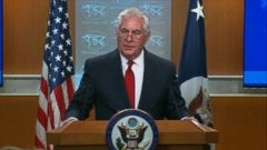 Politician Direct 180313_abc_spec_rep_tillerson_remarks_16x9_240 WATCH: Secretary of State Tillerson promises smooth transition for his replacement ABC Politics  Politics