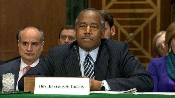Democrat Questions Ben Carson Over 31 000 Furniture Purchase Gma