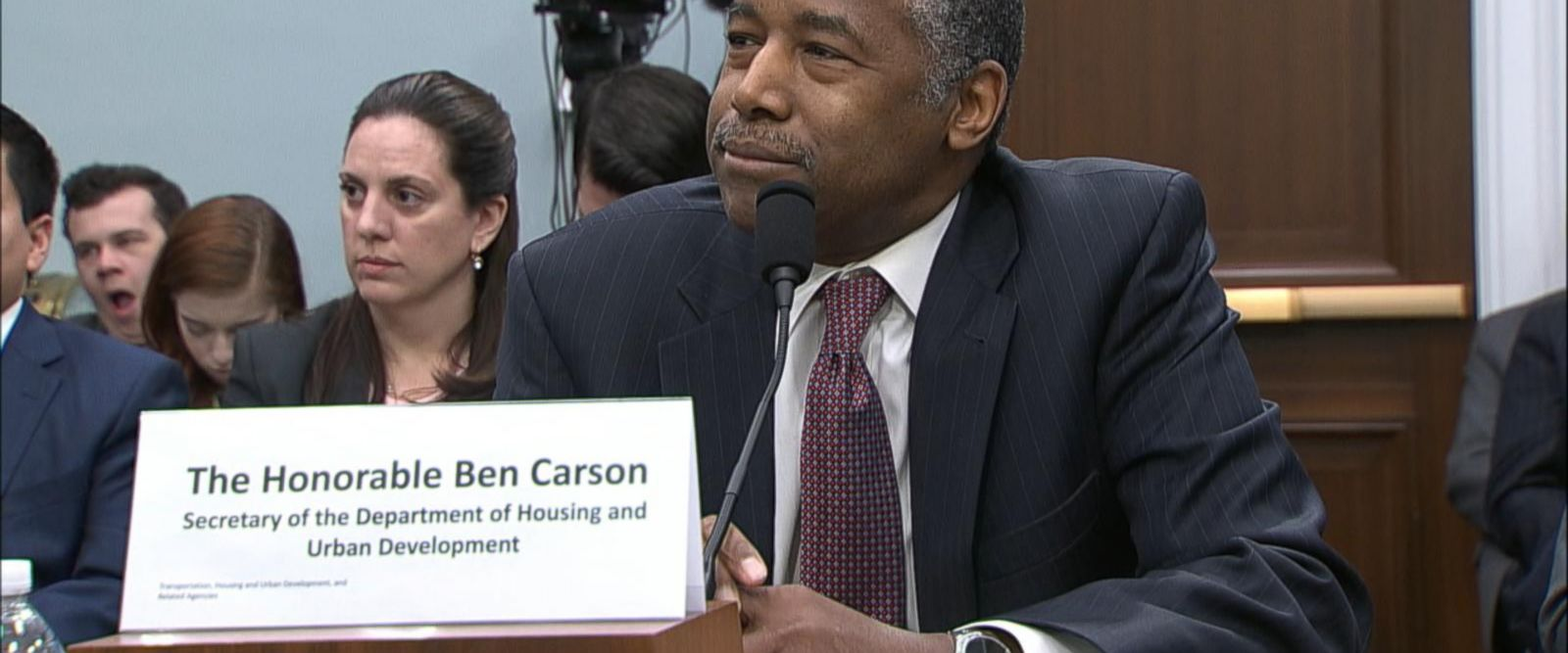 VIDEO: The secretary of Housing and Urban Development testified before a House subcommittee.