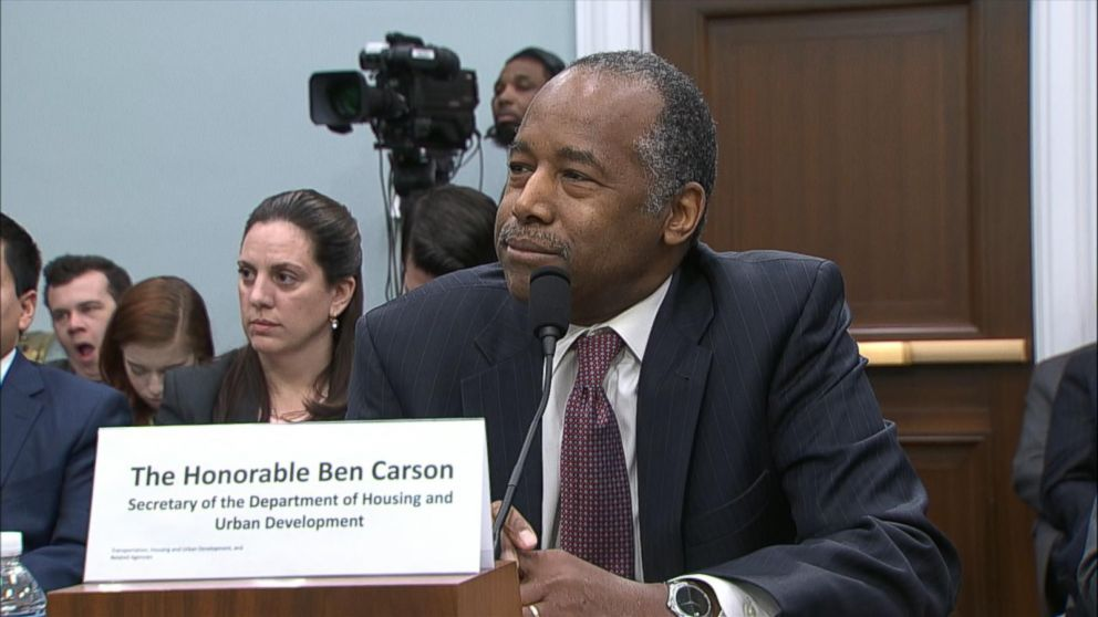 Ben Carson Blames His Wife and Disparages Trans Women