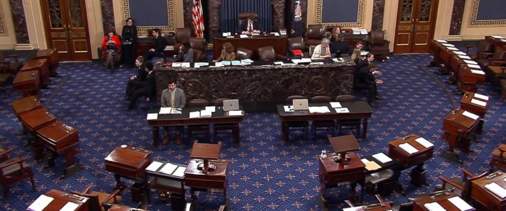 VIDEO: The senators are upset that changes were dropped from a spending bill.