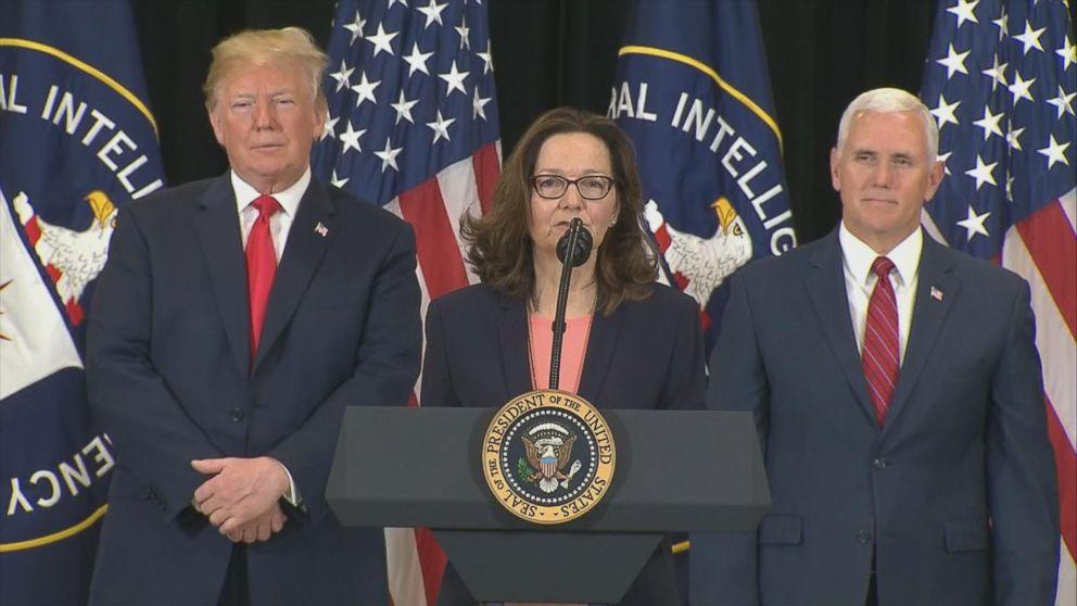 New CIA Director Gina Haspel sworn in