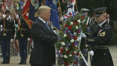 Trump's Memorial Day tweet sparks backlash Video Trump's Memorial Day tweet sparks backlash Video 180528 wabc trumptweets hpMain 16x9 384