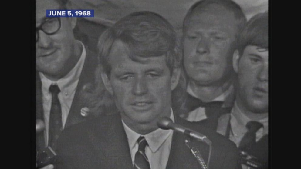 June 5 1968 Robert F Kennedy Is Assassinated Video Abc News