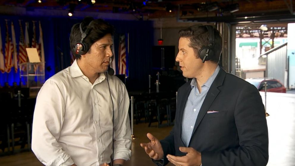 VIDEO: California Democratic U.S. Senate candidate Kevin de León speaks with ABC News on primary day