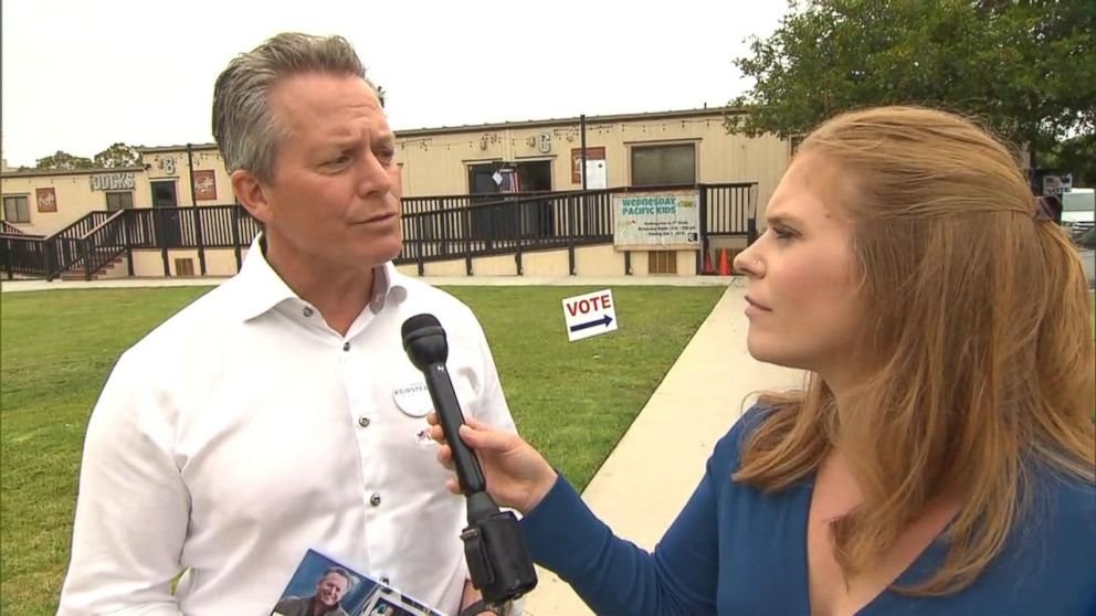 VIDEO: California Democratic congressional candidate Hans Keirstead speaks with ABC News