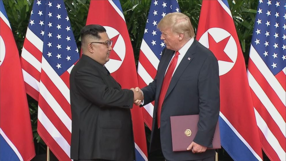 When asked what surprised him most about Kim, Trump answered, great personality, and very smart. A good combination.