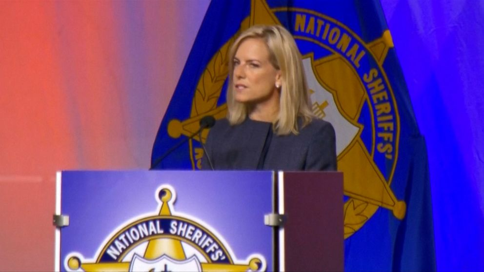VIDEO: Homeland Security Secretary Kirstjen Nielsen offered a full-throated defense of the administrations immigration enforcement policies that lead to separation of families on the border.