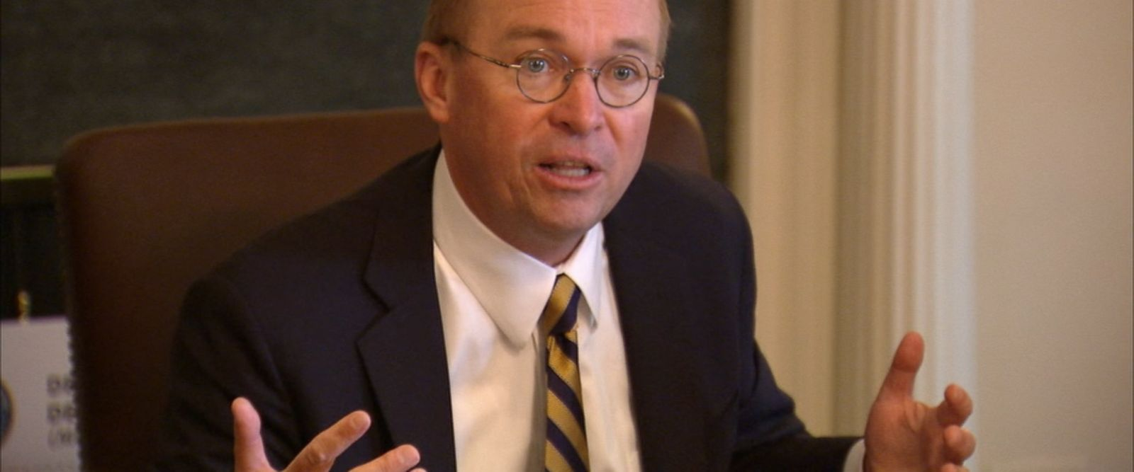 VIDEO: Mick Mulvaney, director of the Consumer Financial Protection Bureau, delivered a food analogy when discussing the proposed merging of Education and Labor departments.