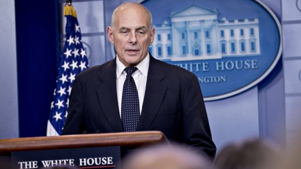 President considering replacement for John Kelly: Sources