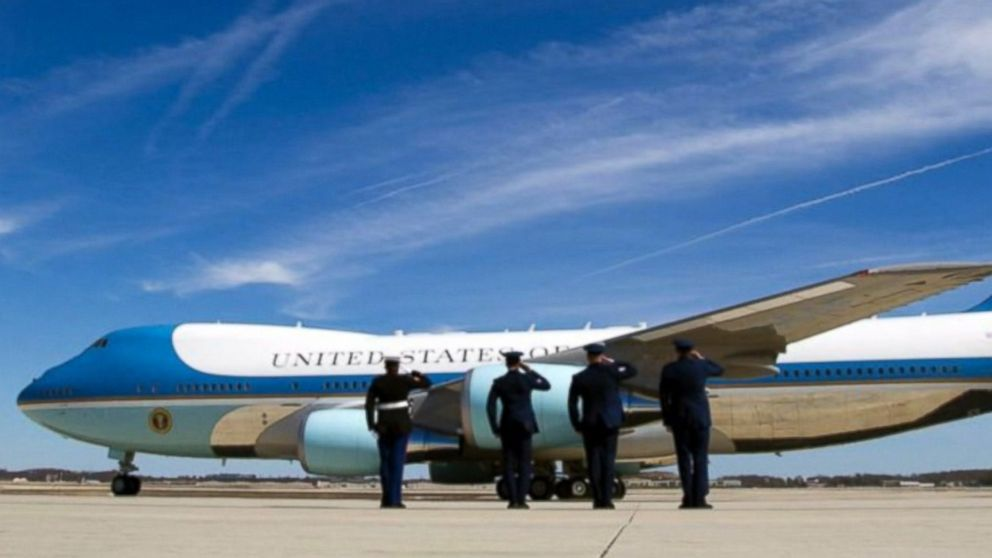 A fresh new paint job for Air Force One