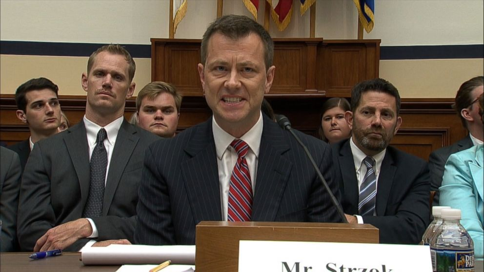 Former FBI agent Peter Strzok sues FBI, DOJ, claiming firing due to