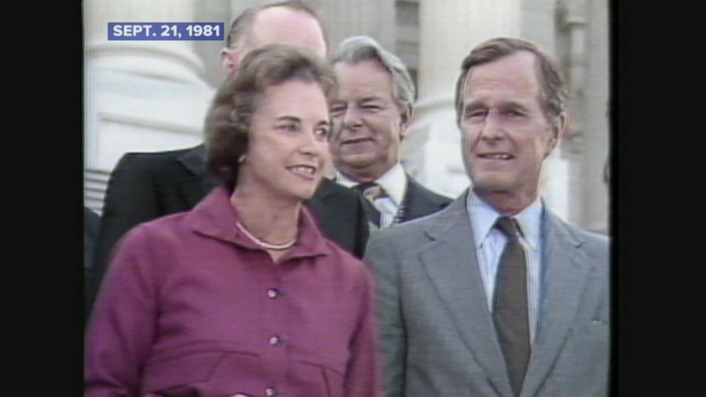 Sandra Day OConnor becomes the first female Supreme Court justice.