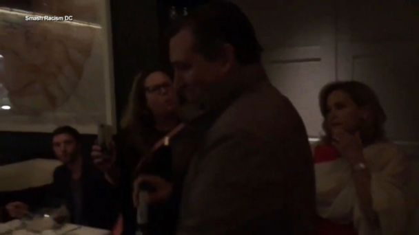 Protesters disrupt Sen. Cruz's dinner in DC