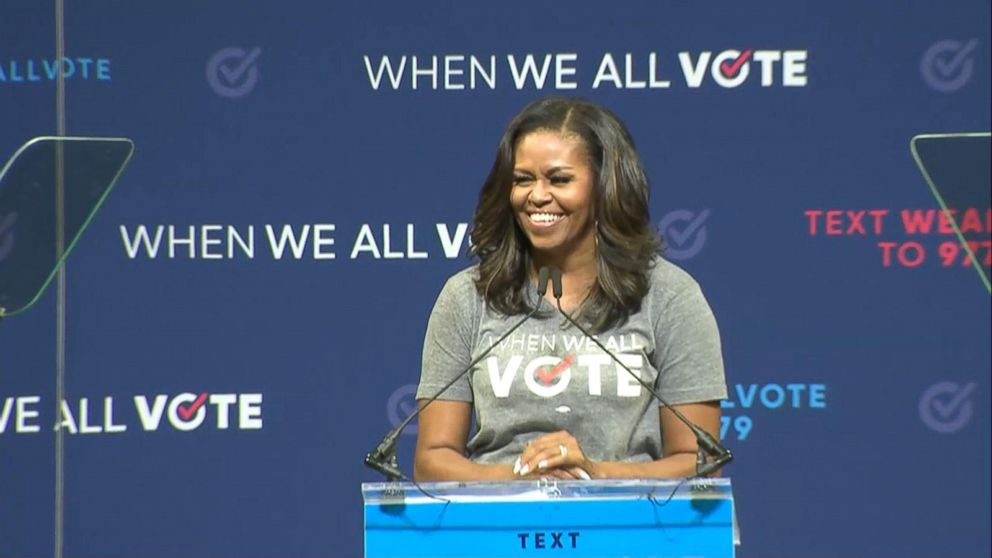 Michelle Obama Urges People To vote in US Elections 2020