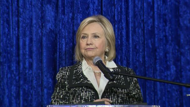Hillary Clinton thanks Secret Service for intercepting suspicious package