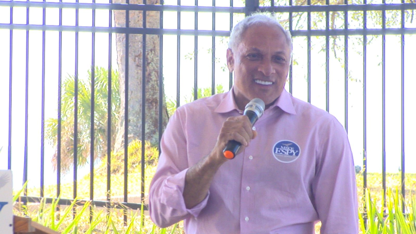 Mike Espy Campaigning in Biloxi, MS / ABC News