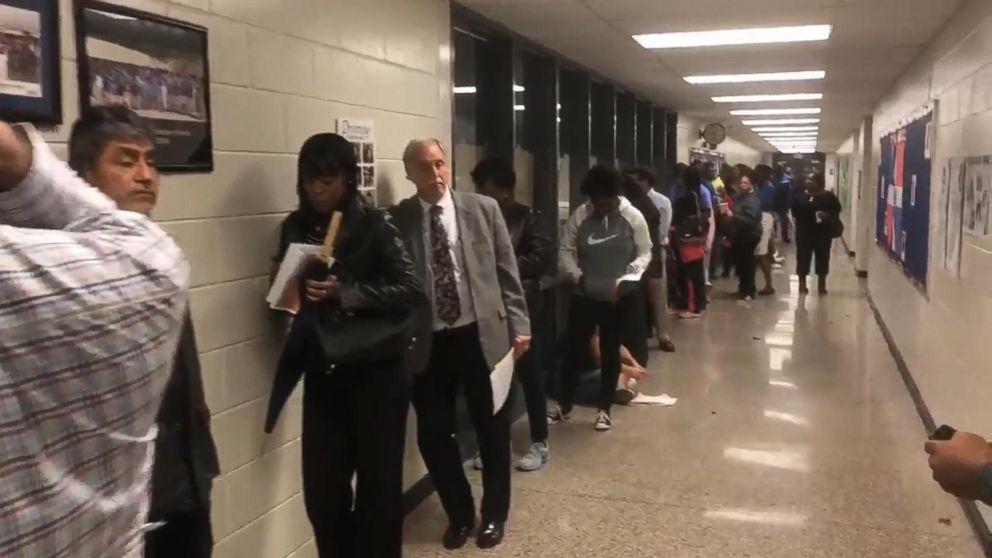 Georgia woman waits nearly 5 hours to cast her ballot