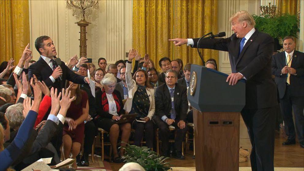White House Suspends Credentials For Cnn Correspondent Jim Acosta