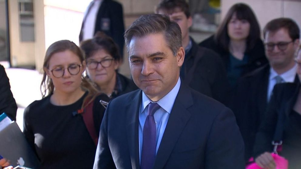 White House goes after Jim Acosta's press pass again as CNN seeks hearing