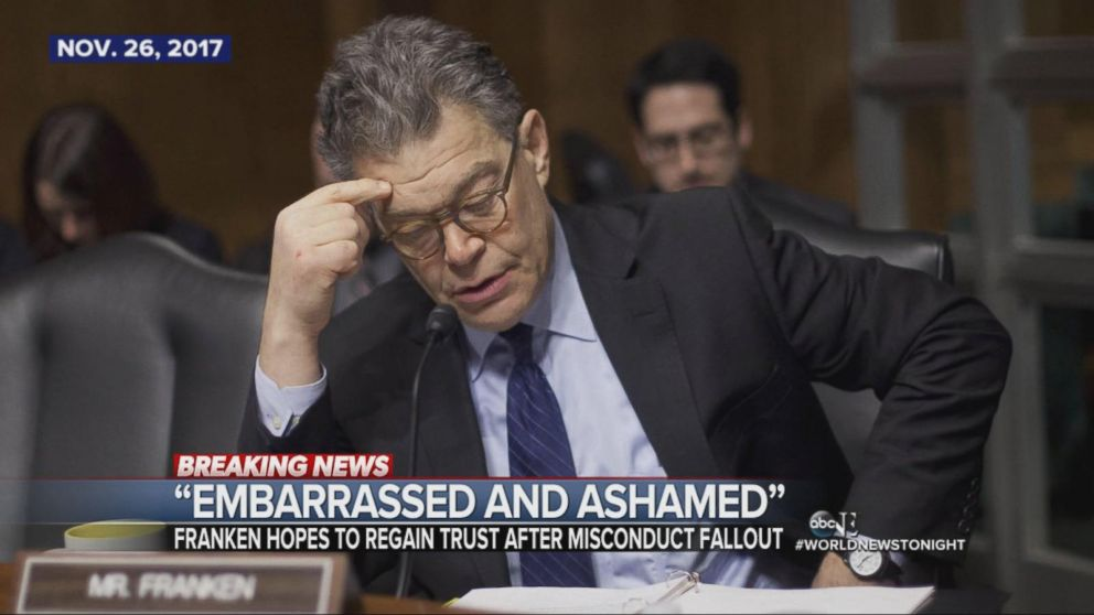 Al Franken speaks out for the first time since sexual misconduct allegations.