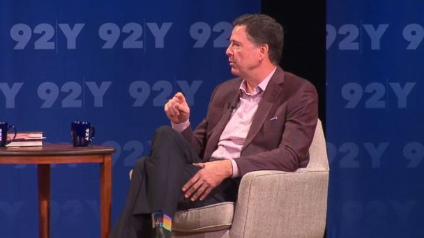 Dems 'have to win' in 2020: Comey responds to Trump