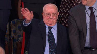 Holocaust survivor Joshua Kaufman joins Congress at State of