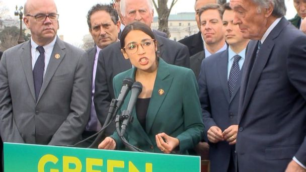 Democrats propose 'Green New Deal' to counter climate change