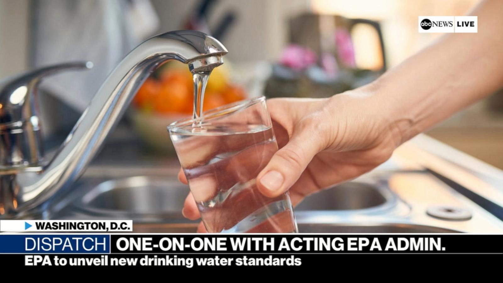 abcnews.go.com - Stephanie Ebbs - EPA chief says water issues a bigger crisis than climate change