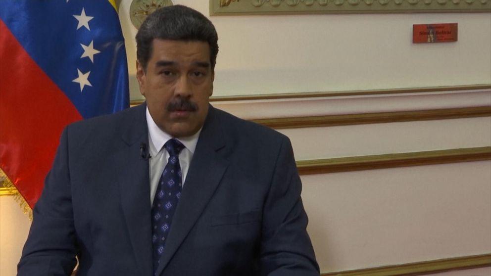 US sanctions top Venezuelan security officials as Maduro digs in