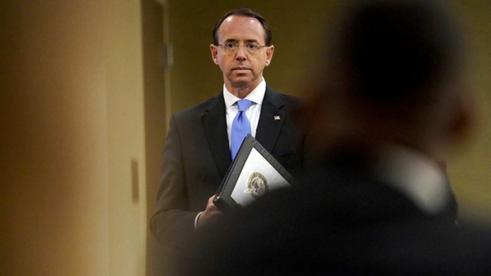 Deputy Attorney General Rod Rosenstein staying longer at the Department of Justice: Sources