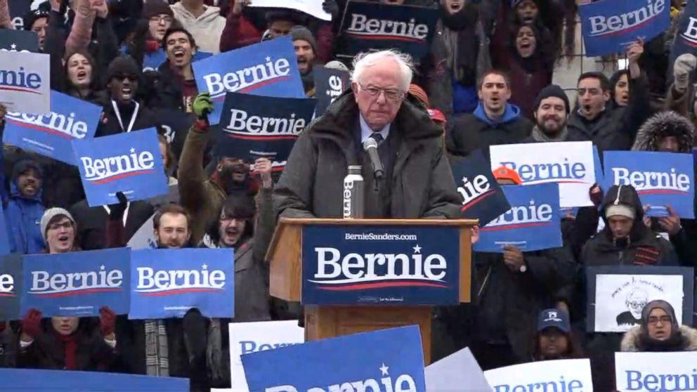 Bernie Sanders kicks off 2020 campaign promising 'strongest ...