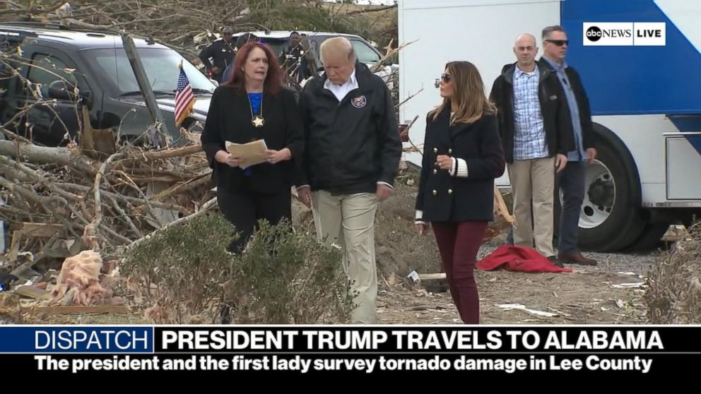 Video: President Trump travels to Alabama