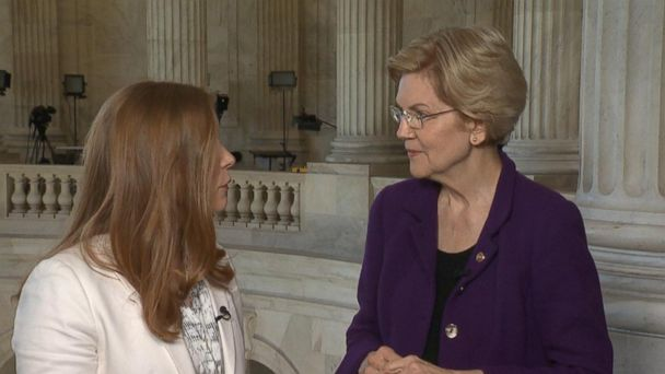 Warren reacts to Biden's potential 2020 bid, college admissions bribery