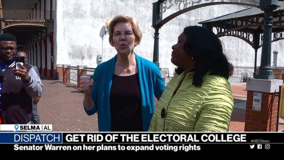 Sen. Elizabeth Warren wants to get rid of the Electoral College