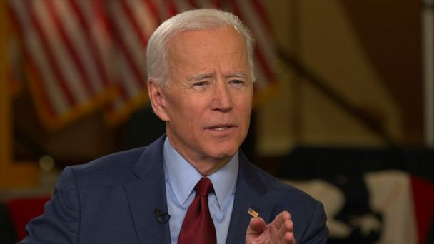 Biden defends saying he has 'the most progressive record of anyone running'