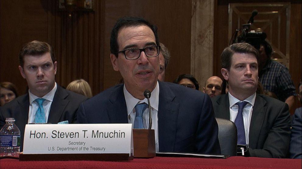 Treasury Secretary Steve Mnuchin says battle over President Trump's tax returns could go to court