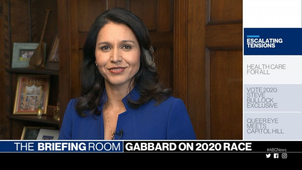 U.S. Rep. Tulsi Gabbard on possible deployment of troops to the Middle East