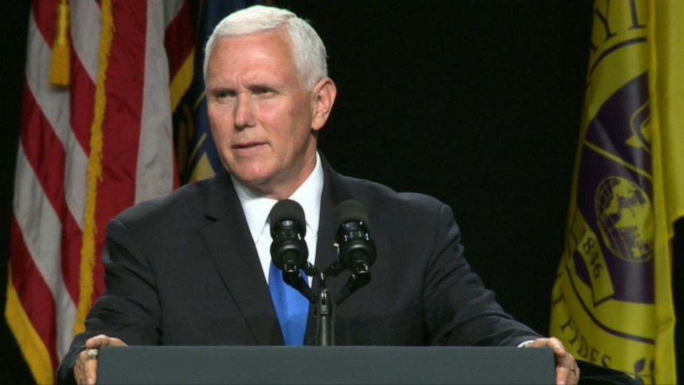 Mike Pence in Indiana: Proud of Trump admin for standing for the 'sanctity of human life'