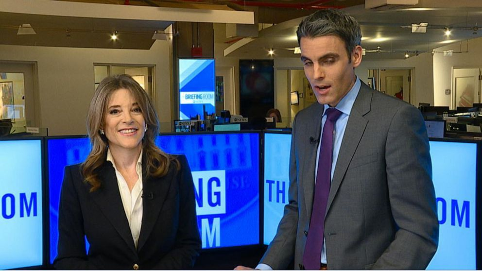 2020 Democratic presidential candidate Marianne Williamson 1-on-1