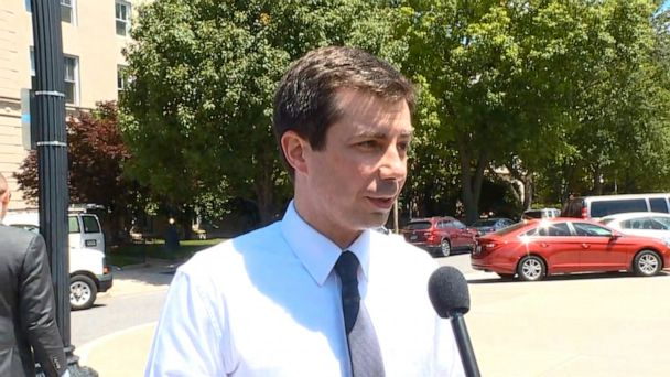 Pete Buttigieg attends abortion rights protest at US Supreme Court