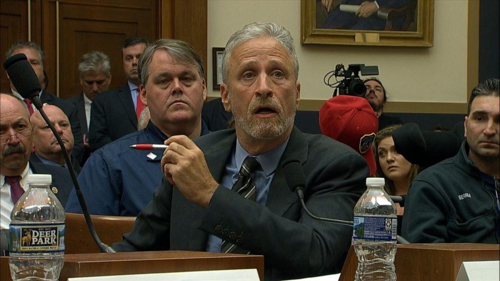 An angry Jon Stewart demands Congress compensate 9/11 responders