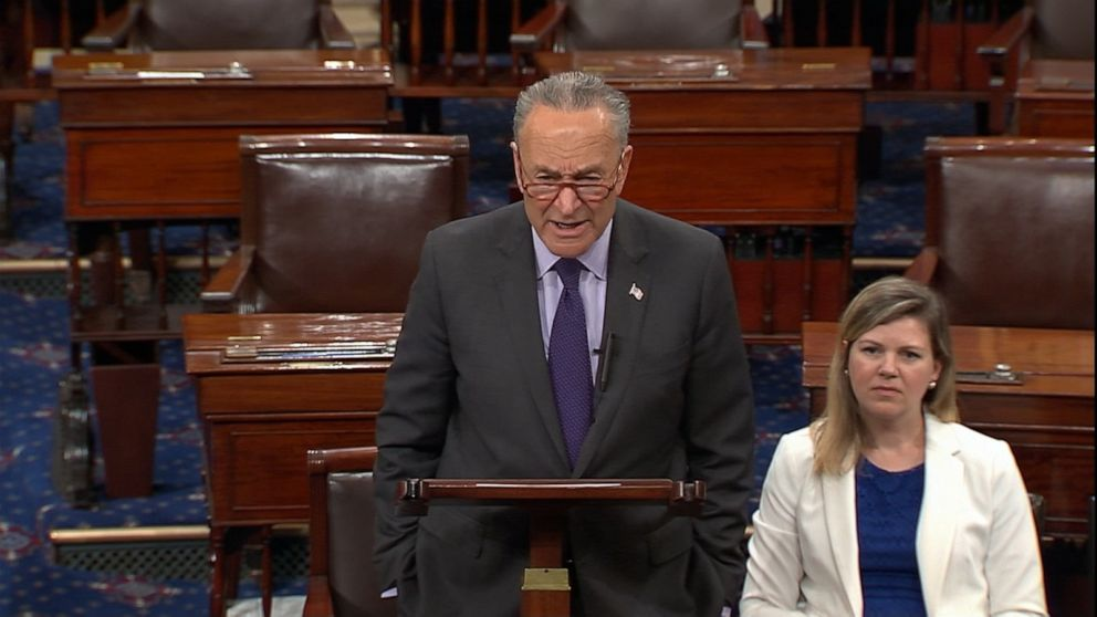 Schumer blasts Trump for saying he'd accept foreign dirt on opponents