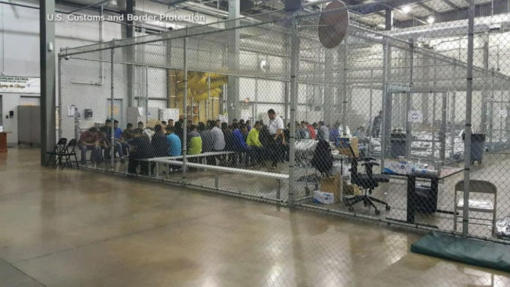 Children facing harsh, unsanitary conditions in detention facilities on border