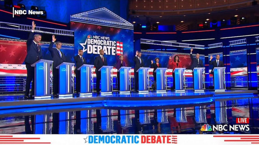Democratic Debate: Immigration dominates 1st night of debate