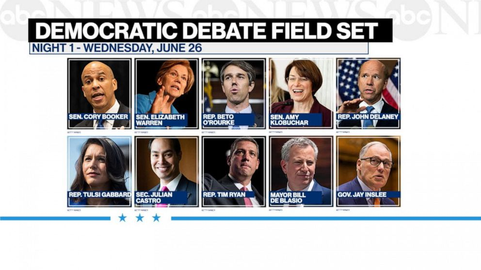 democratic presidential debate 2020