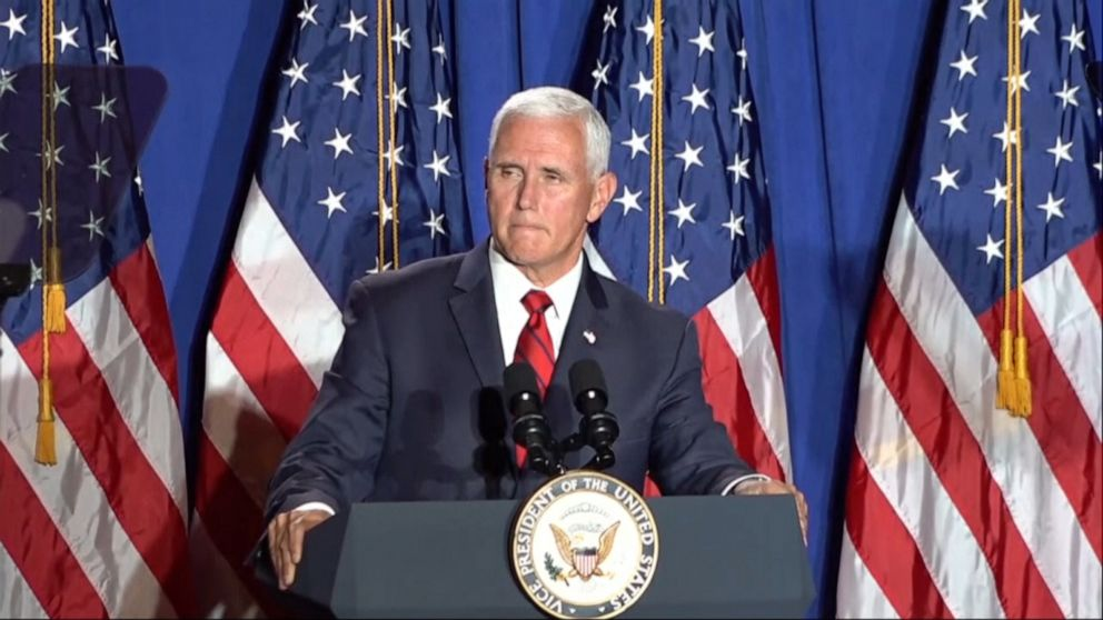 Pence rolls out 'Latinos for Trump,' slams Dems