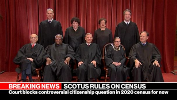 SCOTUS rules to block citizenship question in end-of-term decision