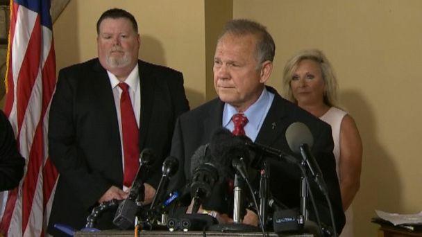 Roy Moore announces bid for US Senate